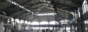 Travaux aux Halles de Saint-Etienne